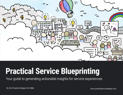 Guide to service blueprinting practical service design practical service blueprinting your guide to generating actionable insights for service experiences malvernweather Choice Image