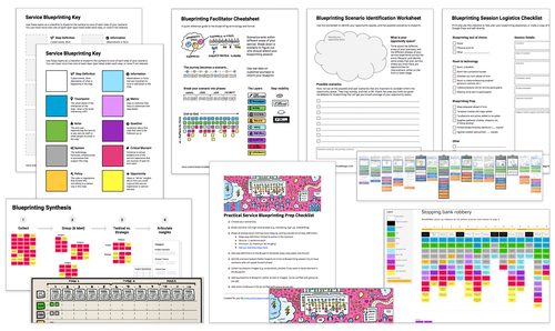 Courses practical service design worksheets templates guides malvernweather Images