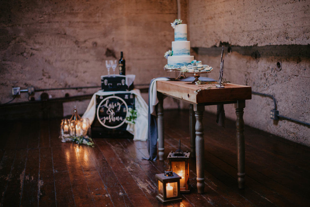 rustic loft wedding