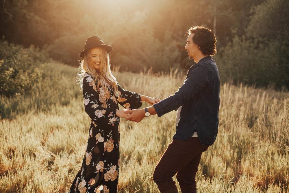 bohemian engagement