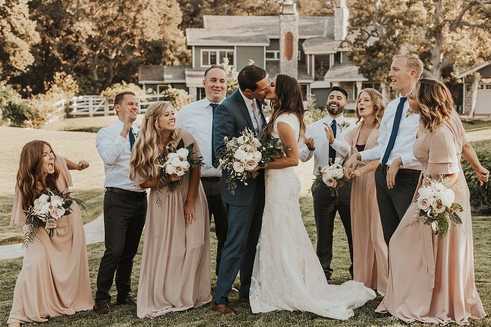 santa clarita estate wedding