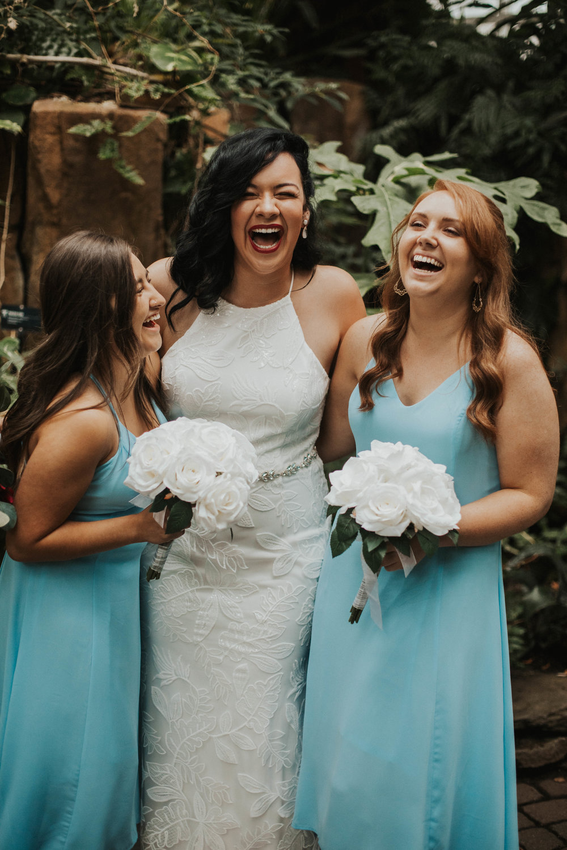 Grand Rapids Garden Wedding