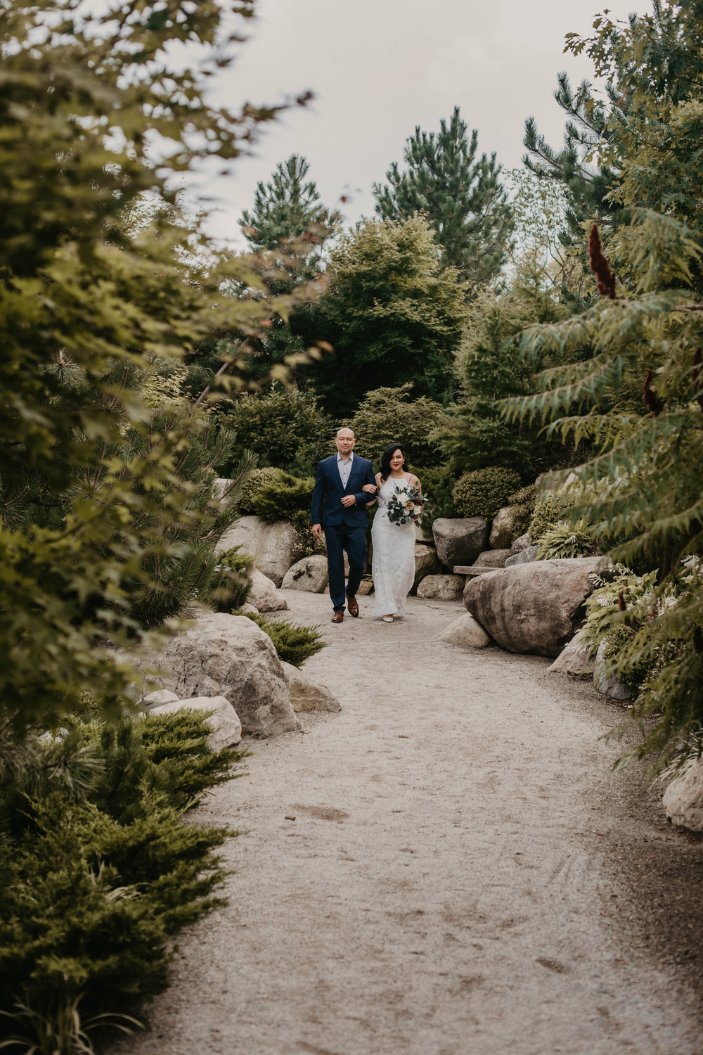 Grand Rapids Garden Wedding