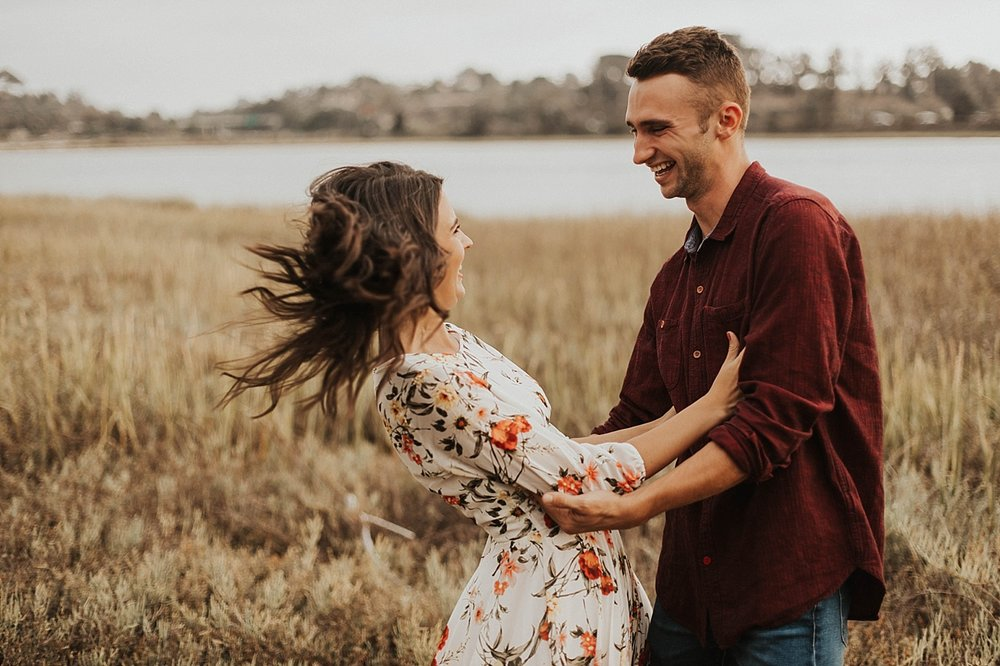 Carlsbad Lagoon Engagement Session