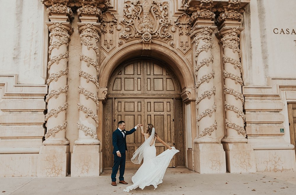 Natural History Museum Wedding San Diego