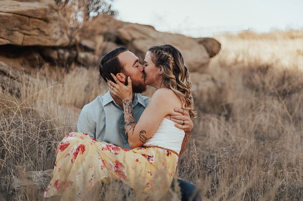 sunset country engagement