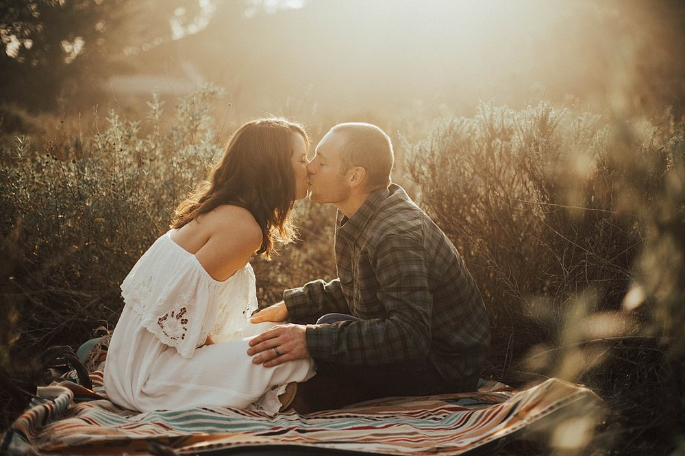 torrey pines maternity shoot