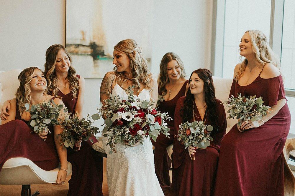 green acres bridesmaids