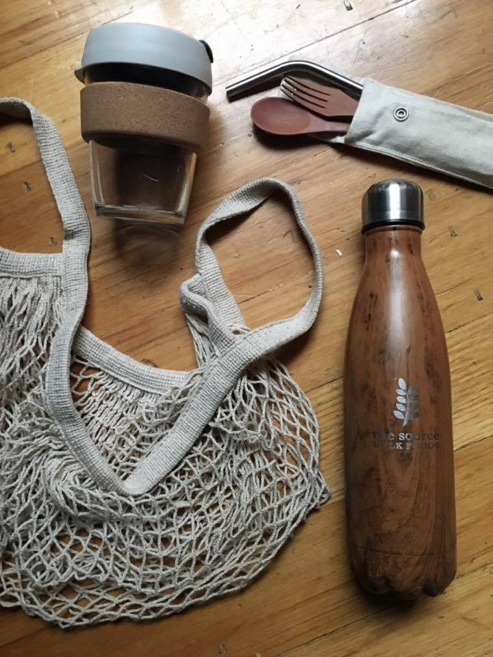 Some of my zero-waste kit