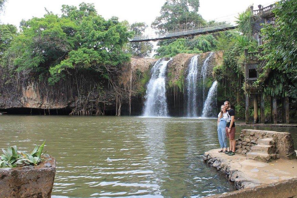 Paronella Park waterfall