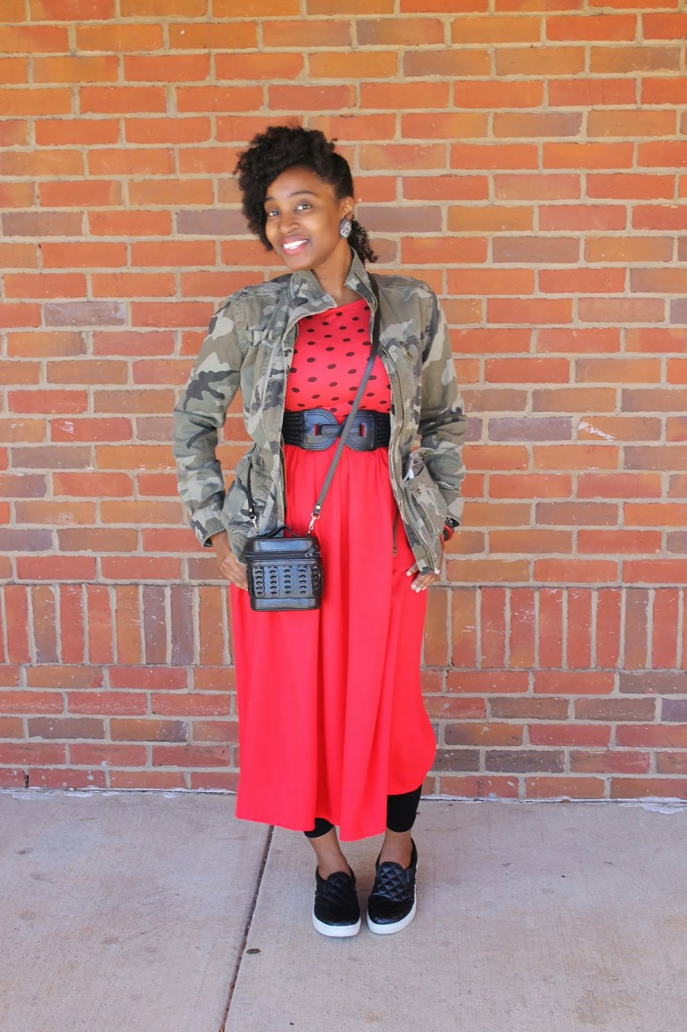 Atlanta style blogger, style blogger, Atlanta blogger, street style, mixed prints, polka dots, camouflage