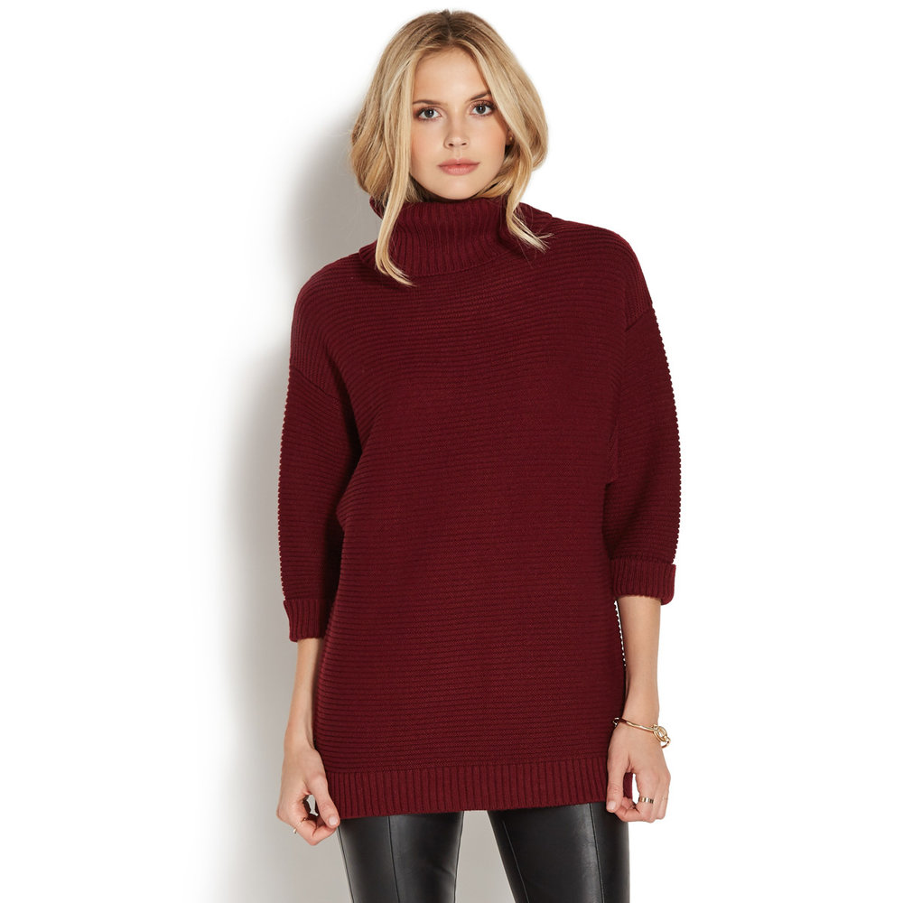 Bordeaux, Burgundy, Oxblood Sweater