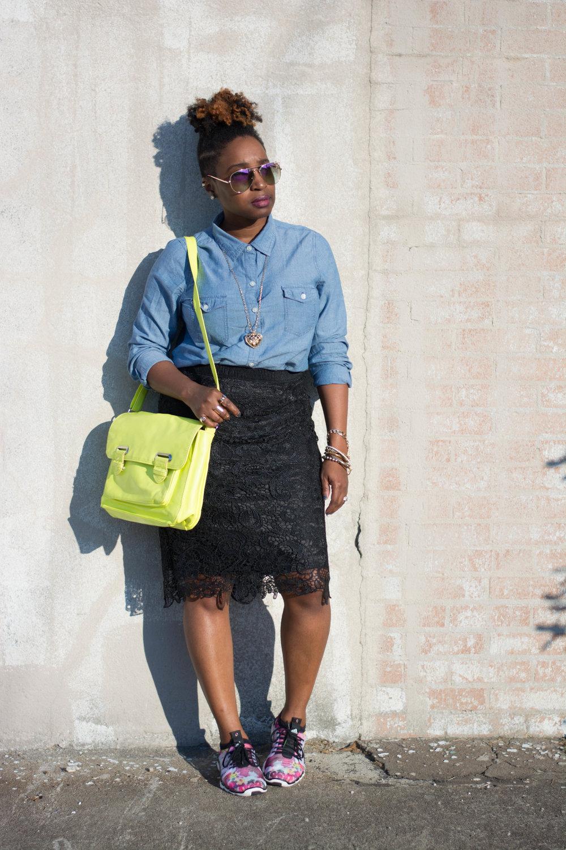 Melodie Stewart, The Style Klazit, Atlanta style blogger, Athleisure, Adidas, Atlanta stylist