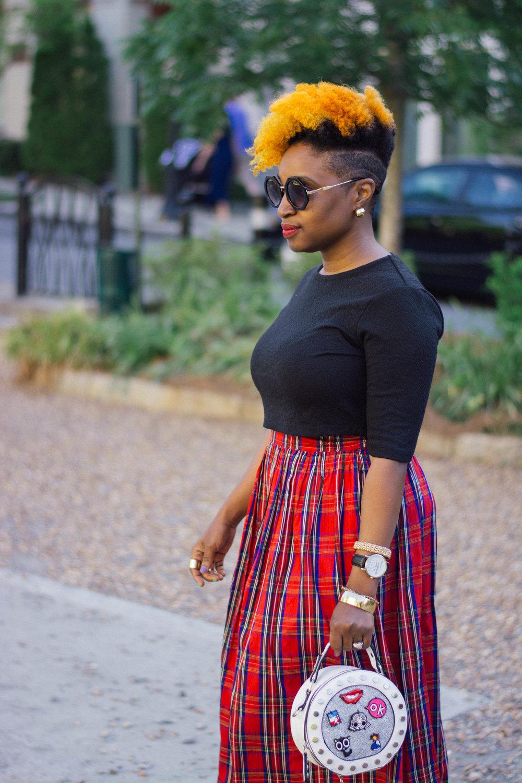 Melodie Stewart, The Style Klazit, Atlanta style blogger, Shein, Atlanta Influencer, street style