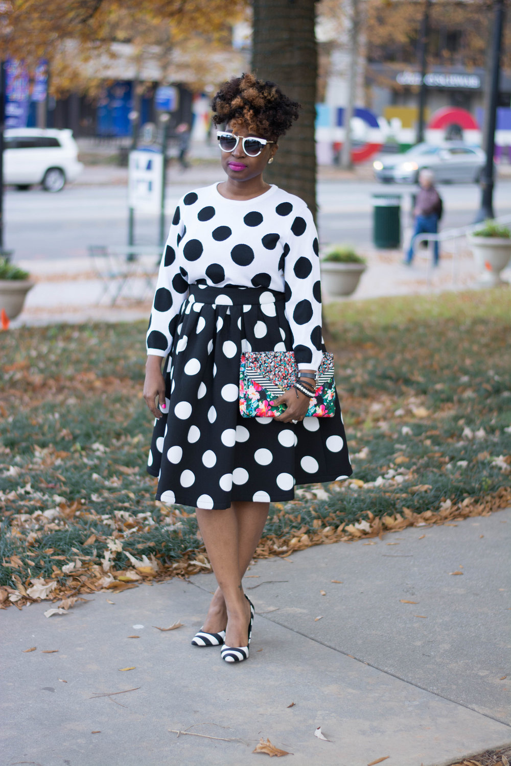 Polka Dots + Stripes / Holiday Lookbook - Style 5 -