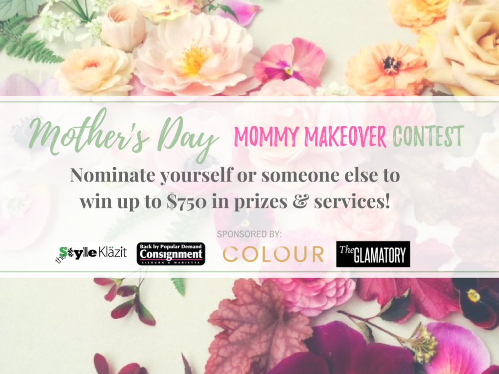 Mother's Day Mommy Makeover Giveaway