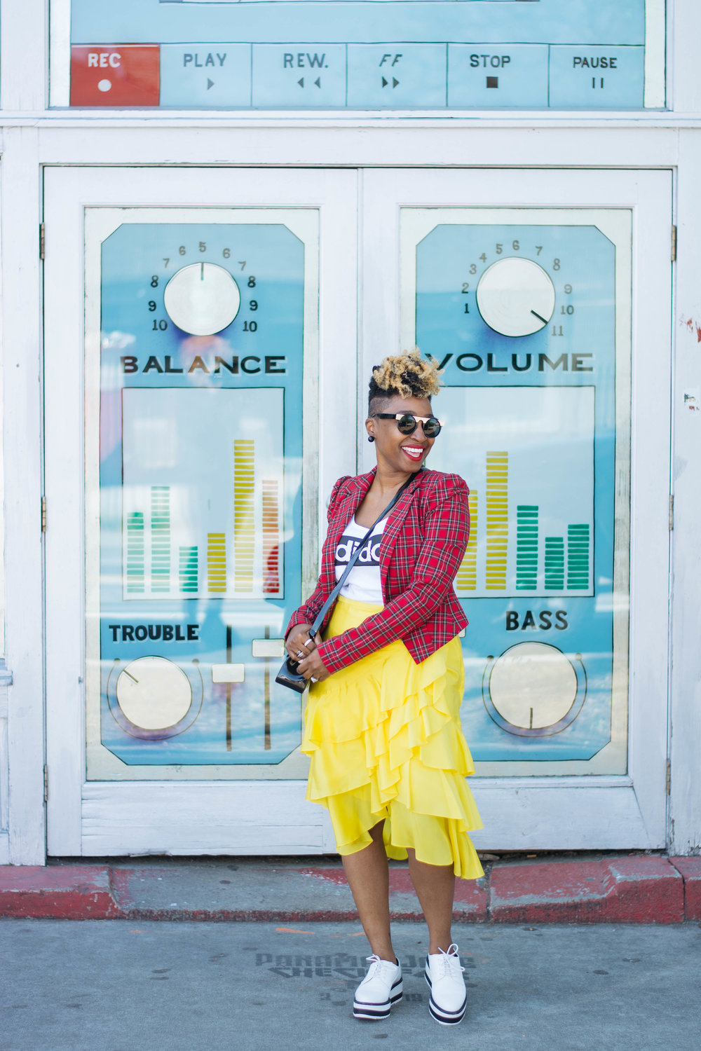 World Natural Hair Show, Top Atlanta blogger, Spring Street Style
