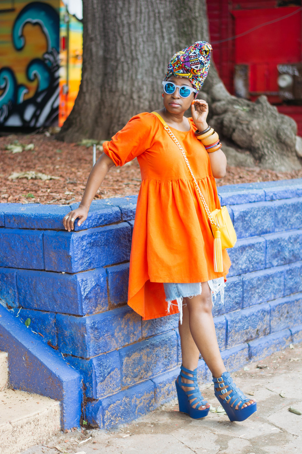 Atlanta personal stylist, top atlanta blogger, head wrap, atlanta street style