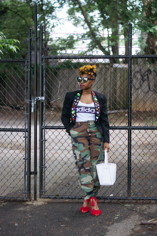 Atlanta personal stylist, Top Atlanta blogger, Camo street style