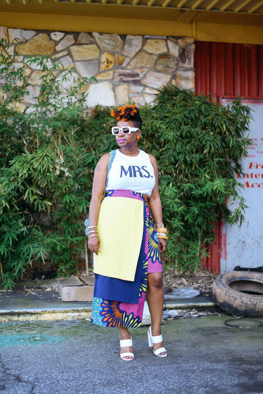 Ankara Street Style, Melodie Stewart