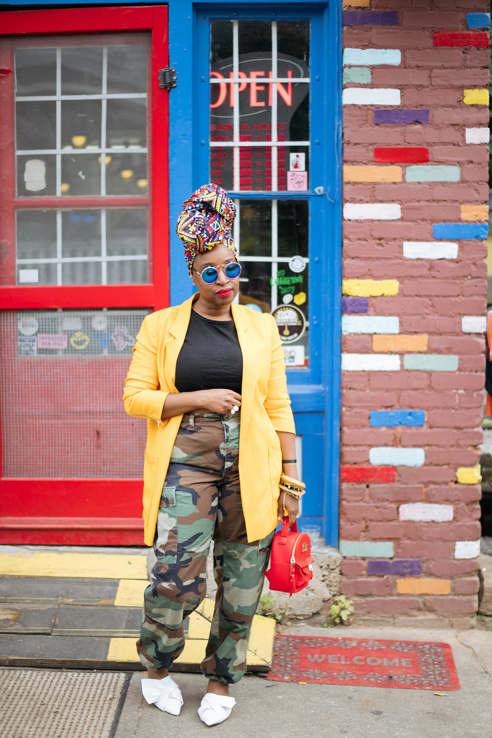 Atlanta Personal Stylist, Top Atlanta Blogger, African inspired street style