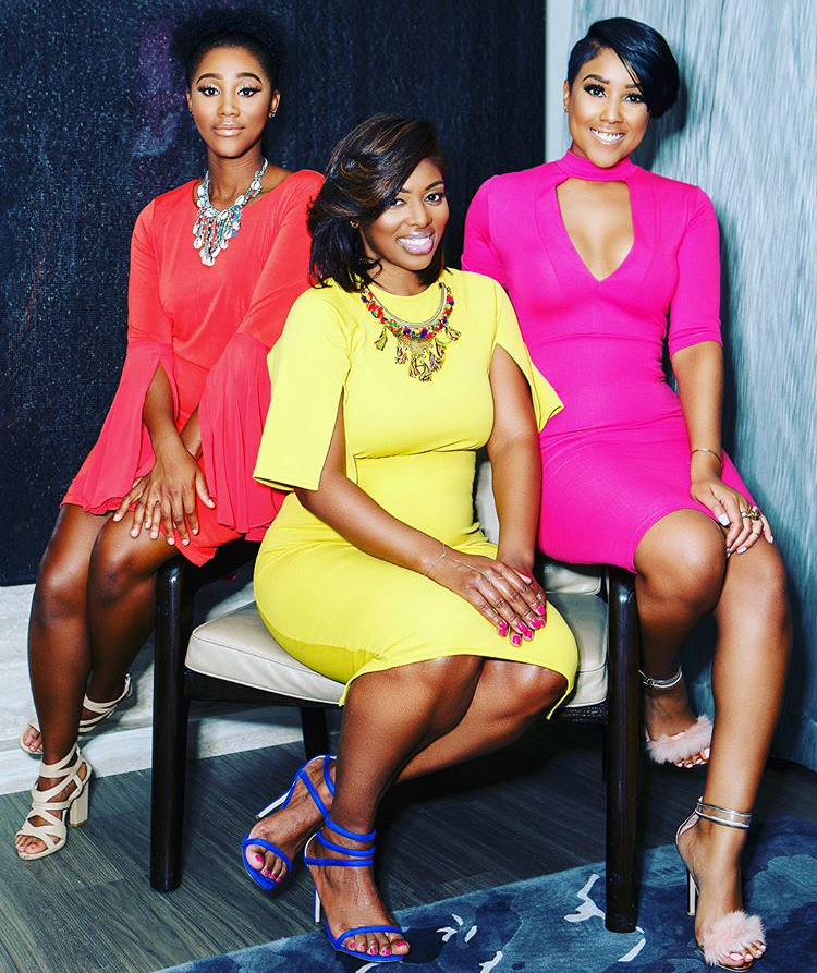 "Photo Credit: Huffingtonpost / The Dream Team (l to r): Alicia Fitch, event planner at Brighter Affairs; Lakia ""LB"" Brandenburg, author and The Wife Coach; Koereyelle, entrepreneur and creator of Werk, Pray, Slay"