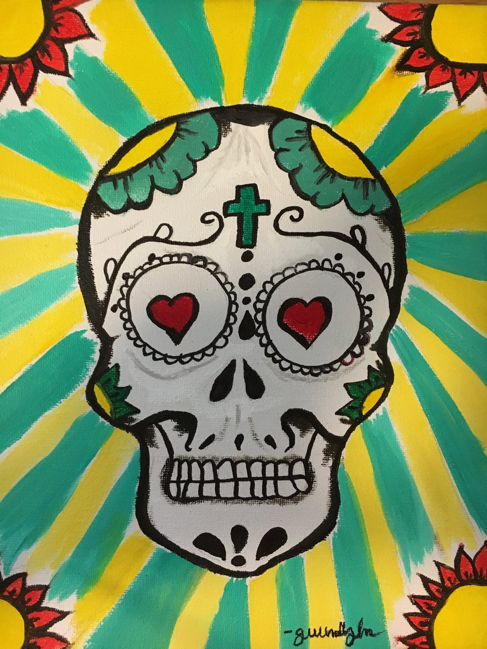 Sugar Skulls? It's cool, Hear Gustavo talk about how they came to the United States