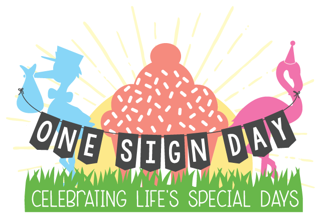 One Sign Day: New Baby and Birthday Sign Rentals Houston, Texas area.