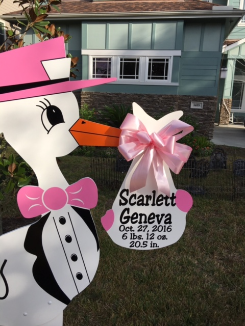 Stork Sassy Sign Rental