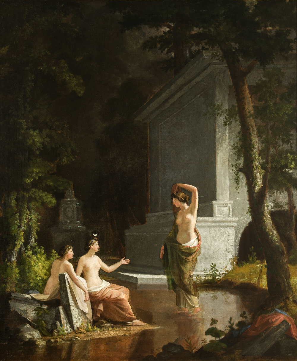 Diana at the Fountain  by Samuel Finley Breese Morse (1813)