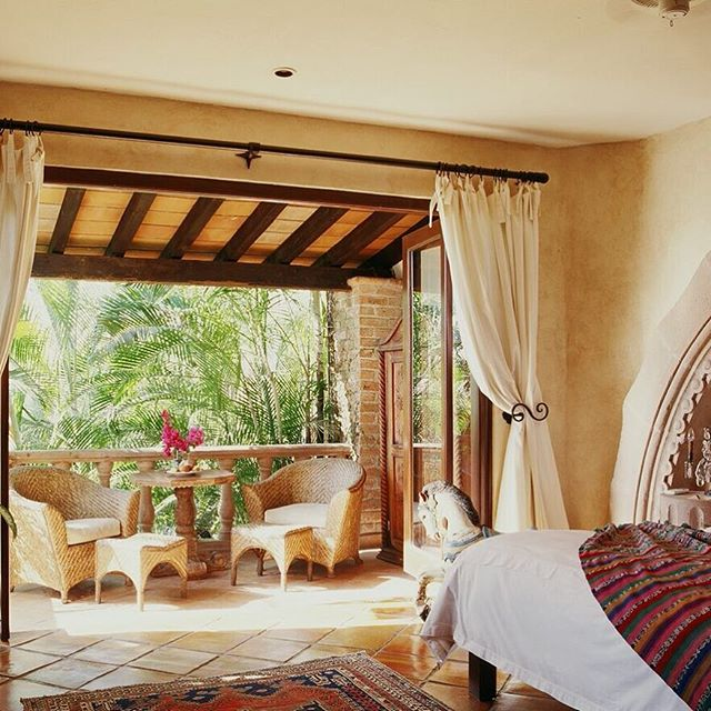 Restful afternoons at the Hacienda. . . . . . . #LuxuryTravel #Hacienda #PuertoVallarta #RoomService #Hotel #Travel #Relax #HomeDecor