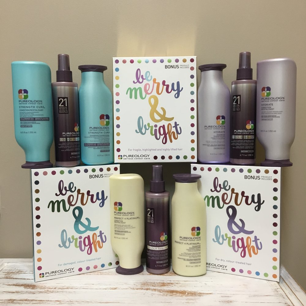 PUREOLOGY  XMAS PACKS $79.50