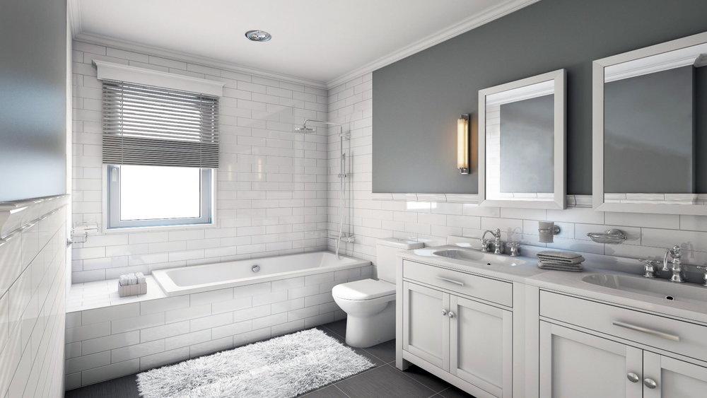 bathroom remodel interior remodel shower tub tile vanity mirror lighting elegant beautiful bathroom contractor licensed residential contractor pro city building and remodeling minneapolis minnesota