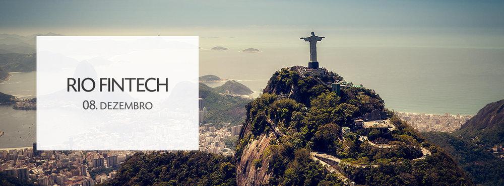RIO FINTECH - 8 DE DEZEMBRO -RIO DE JANEIRO