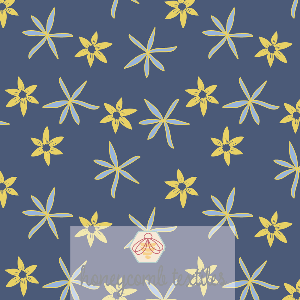 Starry Flowers 01