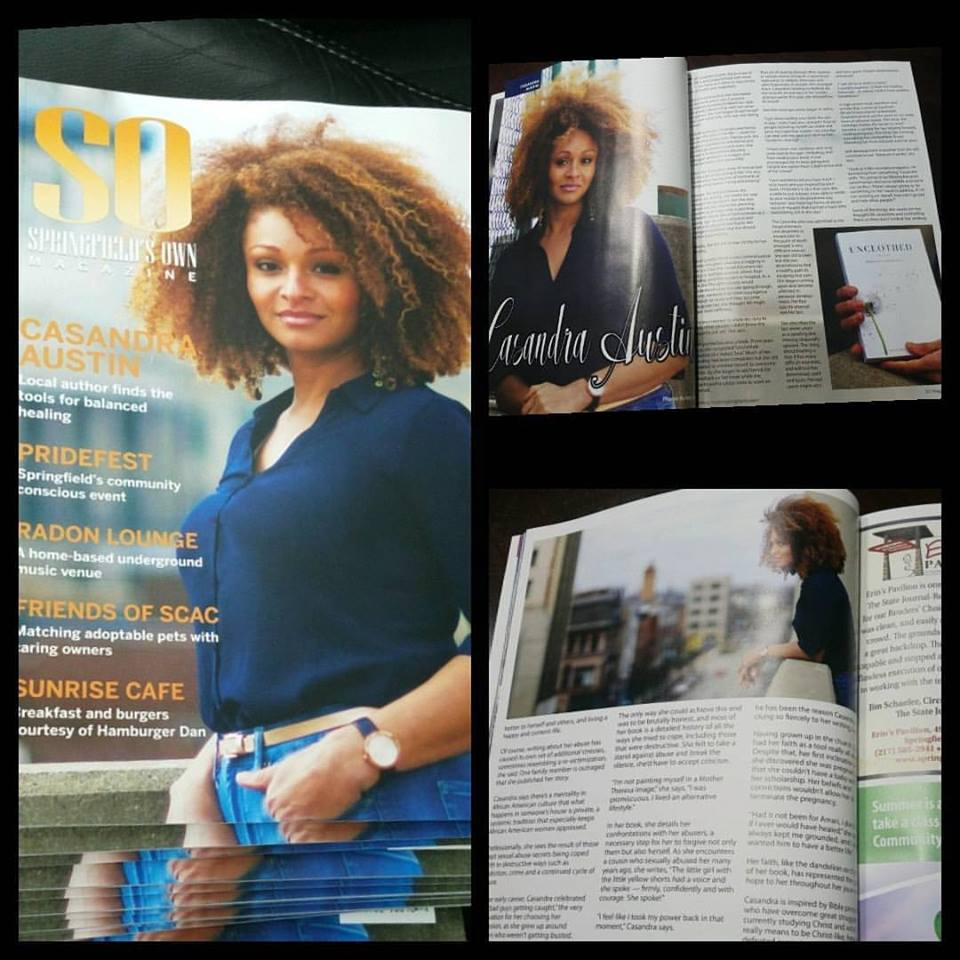"""SO Springfield's Own Magazine - """"Local author finds the tools for balanced healing."""""""