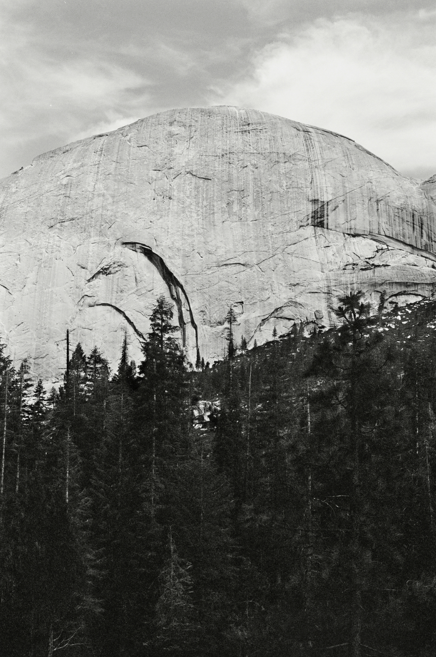 Backside of Half Dome
