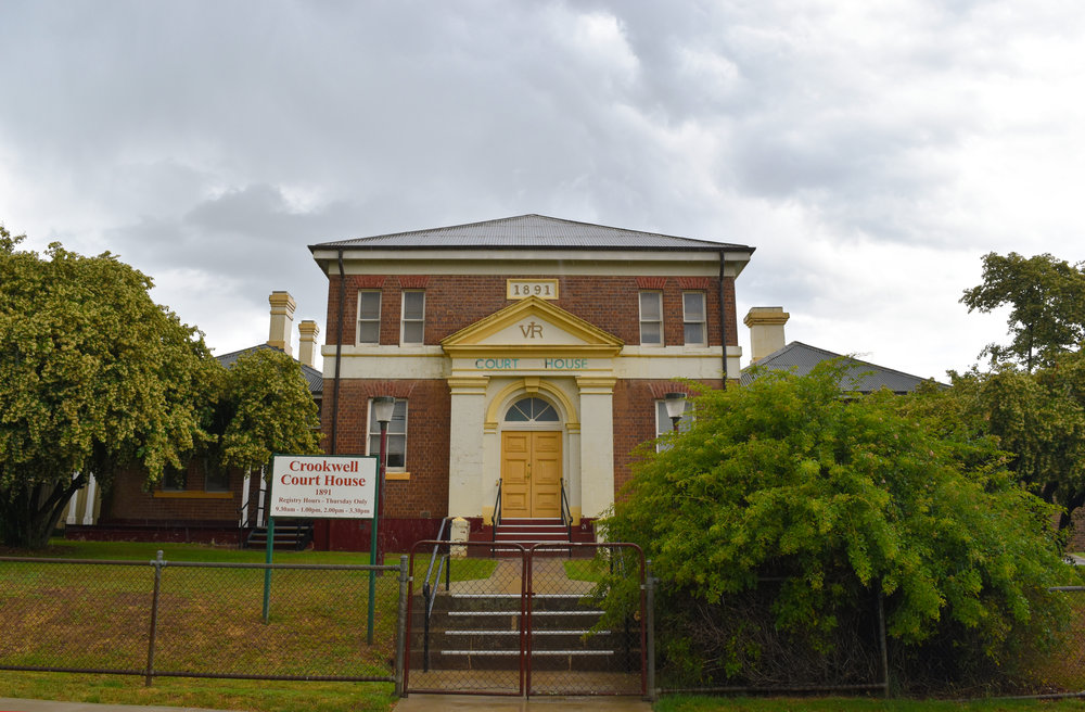 Crookwell Court House