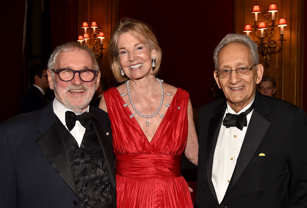 Norman Jewison, The Hon. Hilary M. Weston, Frank Stella