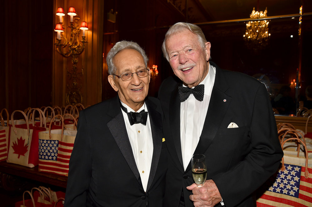 Frank Stella, Gala Dinner Co-Chair James D. (Jim) Fleck