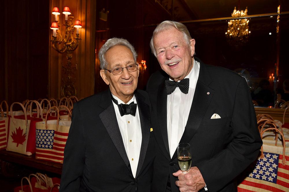 Frank Stella, Gala Dinner Co-Chair James D. (Jim) Fleck