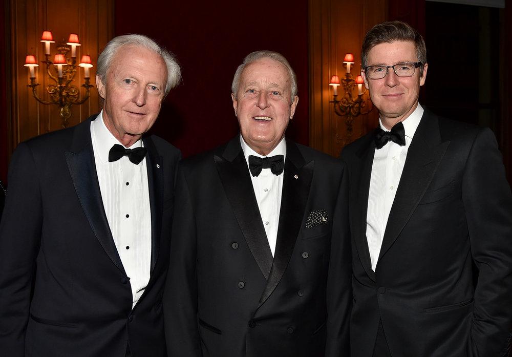 Galen Weston, Prime Minister Brian Mulroney, Galen Weston Jr.