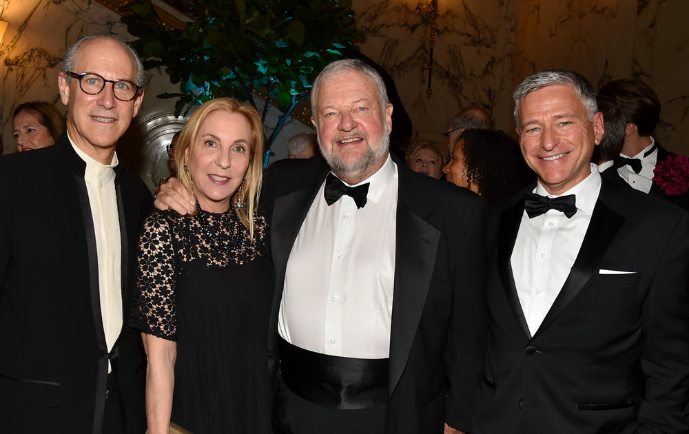 Glenn Lowry, Susan Rockefeller, David Rockefeller, Vin Cipolla