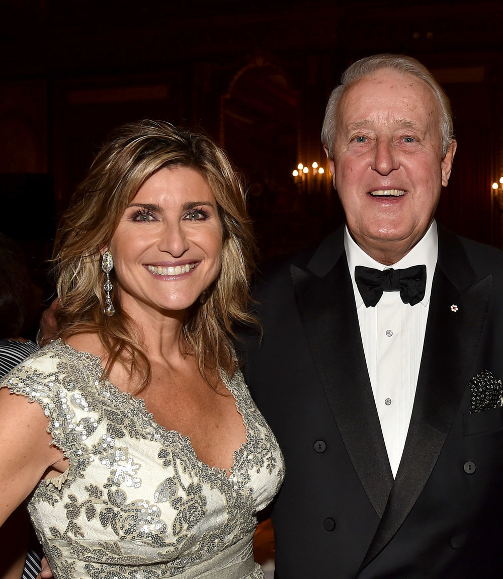 Ashleigh Banfield ,  Prime Minister Brian Mulroney,