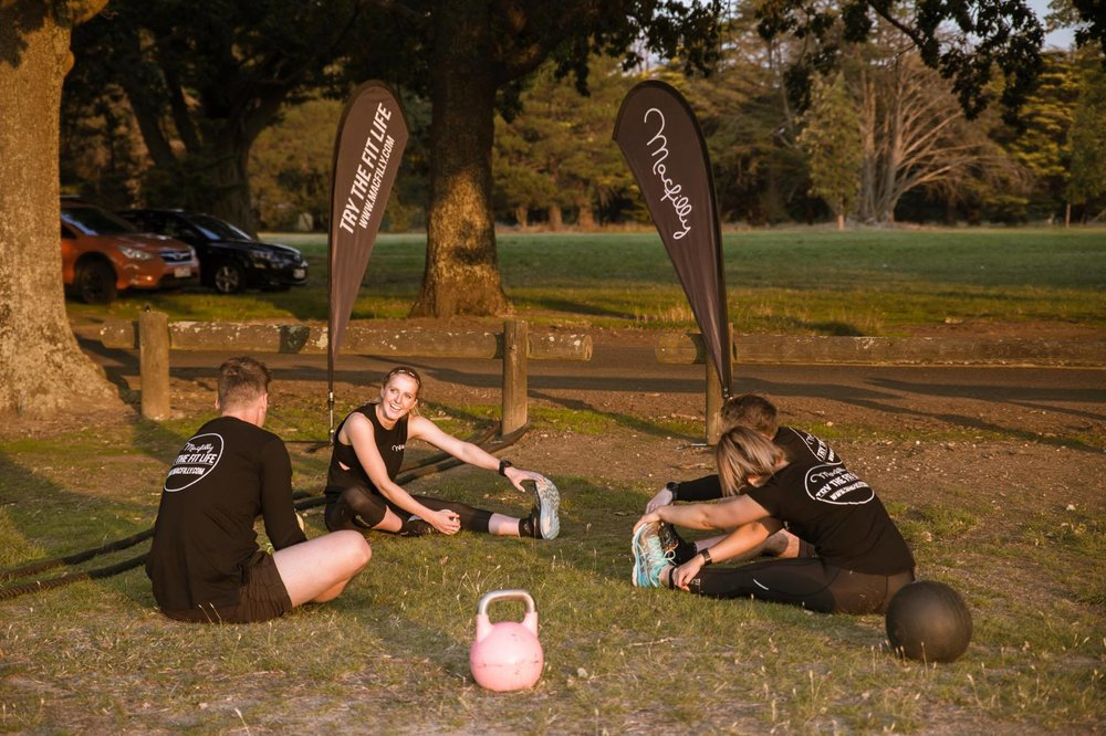 Small Group Fitness - A challenge for friends and family