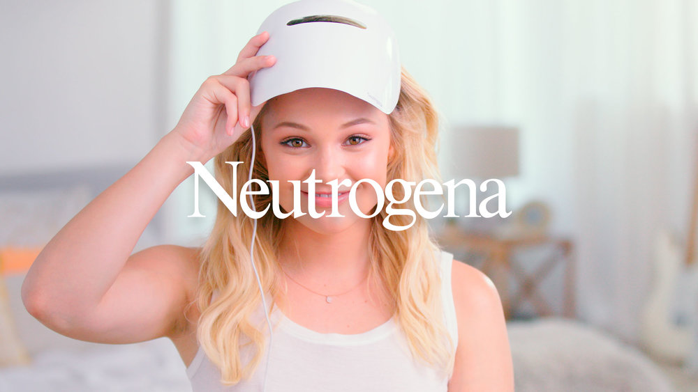 Neutrogena Cosmetics. - Product launch, Content funnel, Website, Video, Social.
