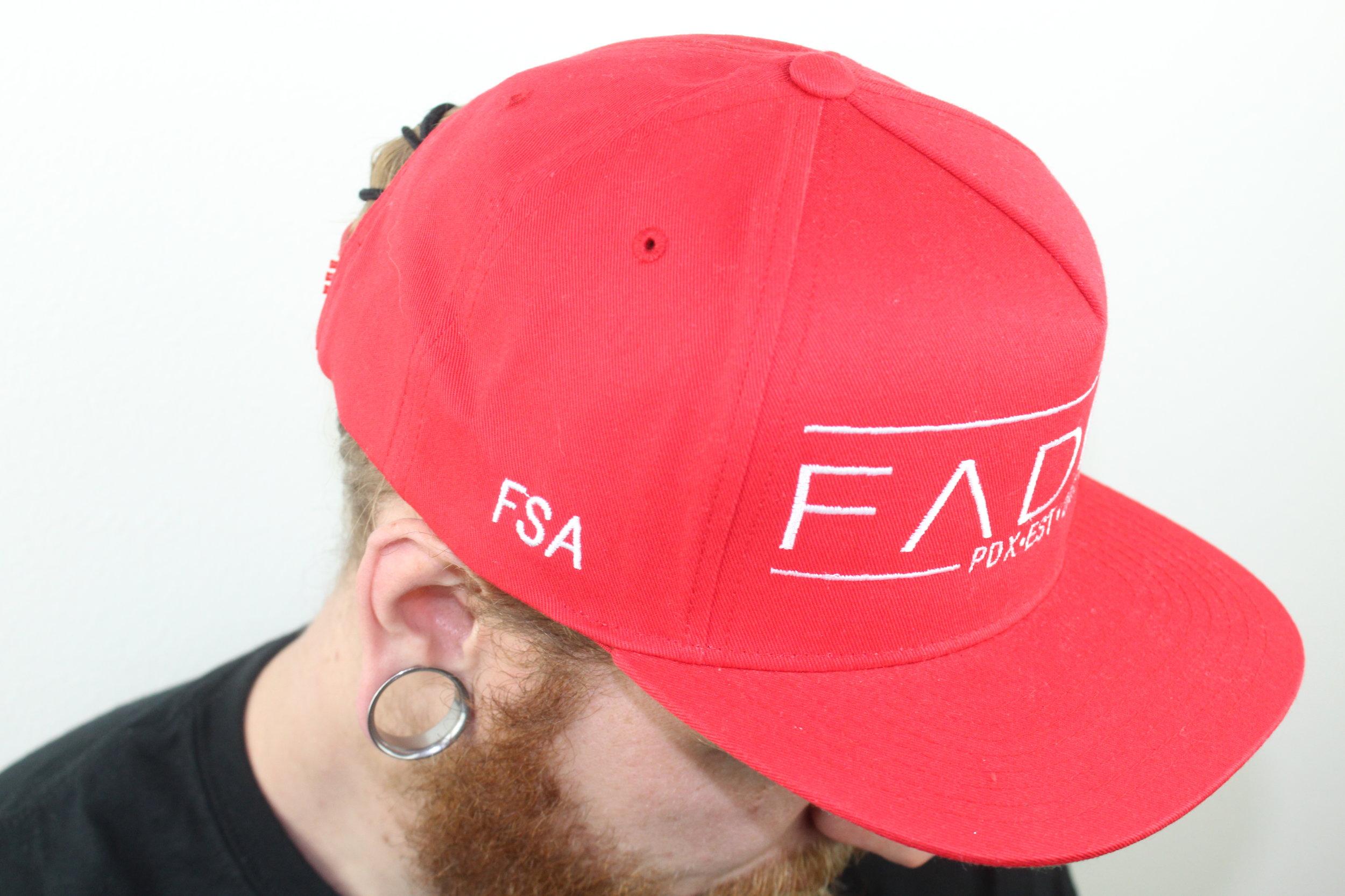 01f9a60a30d Faded PDX SnapBack Hat — Faded Status Apparel