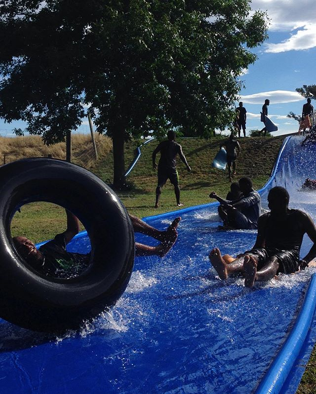 Slip n Sliiiiide!!! Latergram from @hortus.co.nz and Duncannons family fun day - 15 Dec 2017