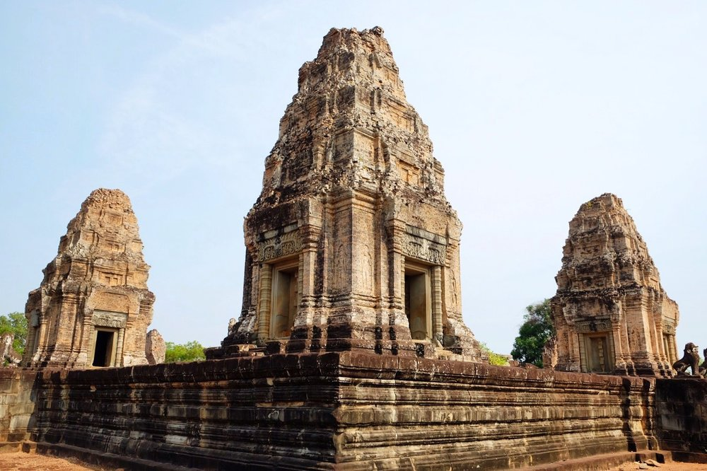 The towers of Pre Rup.