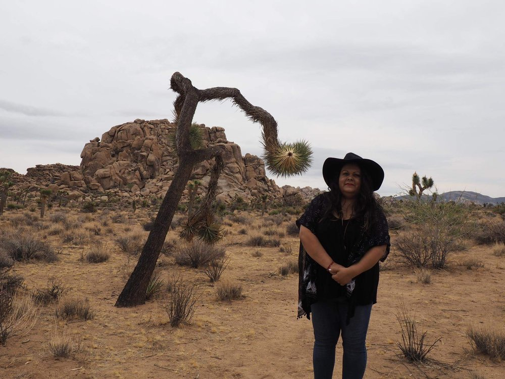 Kissed by a Joshua Tree - Photo by Alli